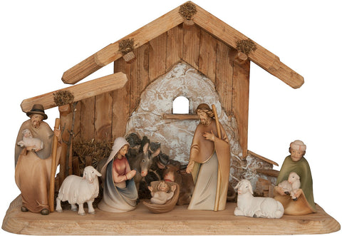 Salcher Morgenstern Nativity Stable for Family