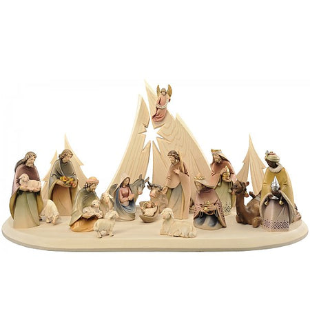 Salcher Morgenstern Nativity - Crib with Stable