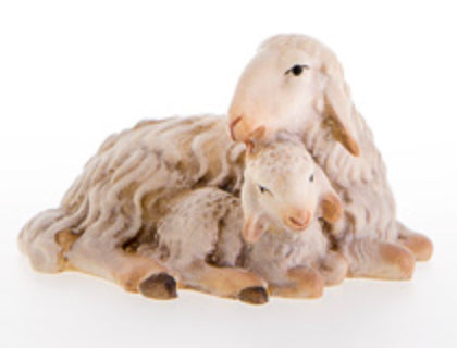LEPI Sheep with Lamb (without pedestal)