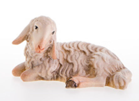 LEPI Sheep lying down (without pedestal)
