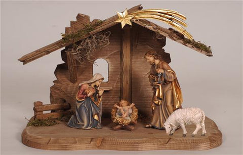 7 Piece Kostner Nativity Starter Set