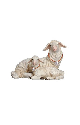 Rainell Sheep Lying with Lamb