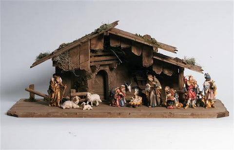 Rainell 14 Piece Nativity Set