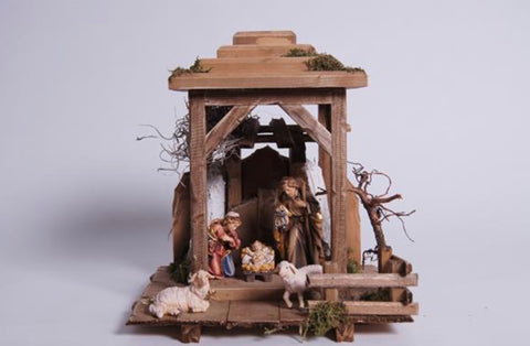 Rainell 7 Piece Nativity Set - Lantern Holy Night