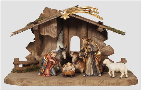 Rainell 9 Piece Nativity Set - Stable
