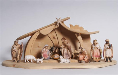 PEMA Nativity Set 14 pieces - Stable