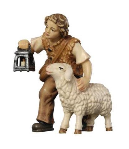 Kostner Boy with Sheep and Lantern