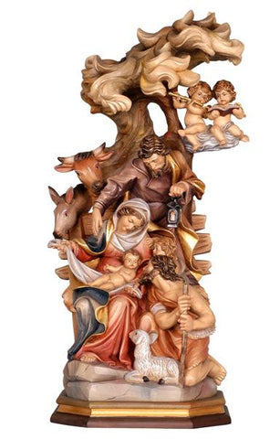 "5"" - 34"" Raffaelo Nativity by PEMA Woodcarvings - Blockkrippen"
