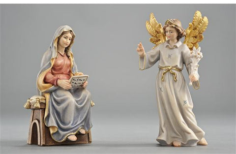 The Annunciation of our Lord - PEMA Kostner Hand Painted Set