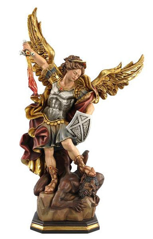 St. Michael the Archangel Woodcarving