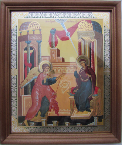 Annunciation of our Lord to the Virgin - Framed Icon