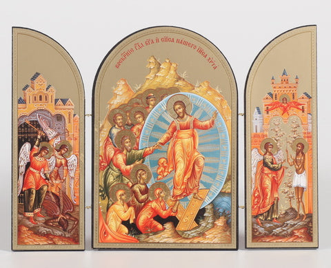 New Life in Christ - Resurrection Triptych