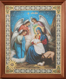 Infant Jesus with Virgin Mary - Icon for Christmas