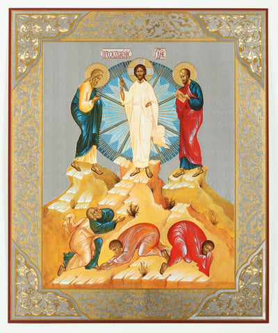 Transfiguration of Christ Russian Icon