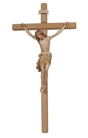 PEMA Siena 3X Stained Corpus Crucifix