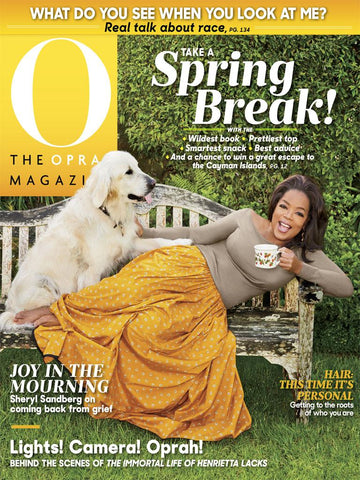 Ikuzi Dolls in Oprah Magazine May 2017