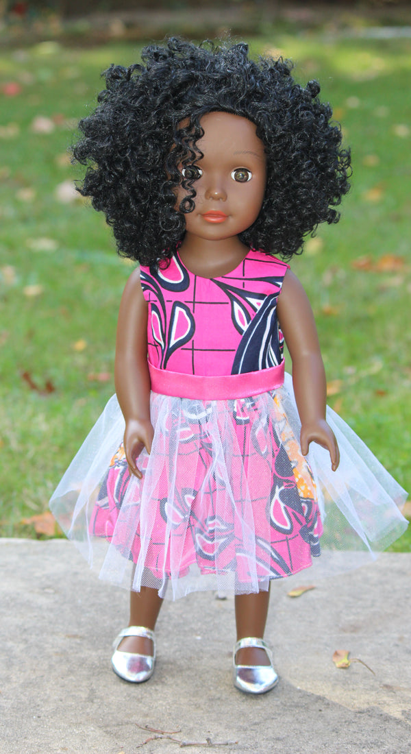Dark Brown Skin Tone Doll