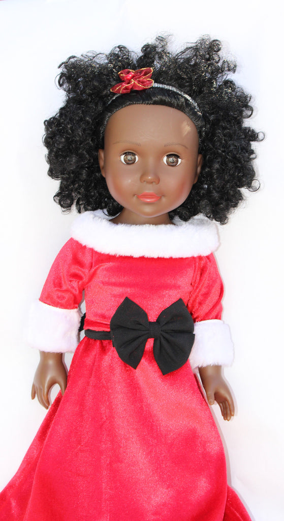 black doll for Christmas