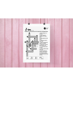 Downloadable I AM Crossword Puzzle