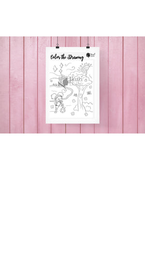 Downloadable Park Coloring Page