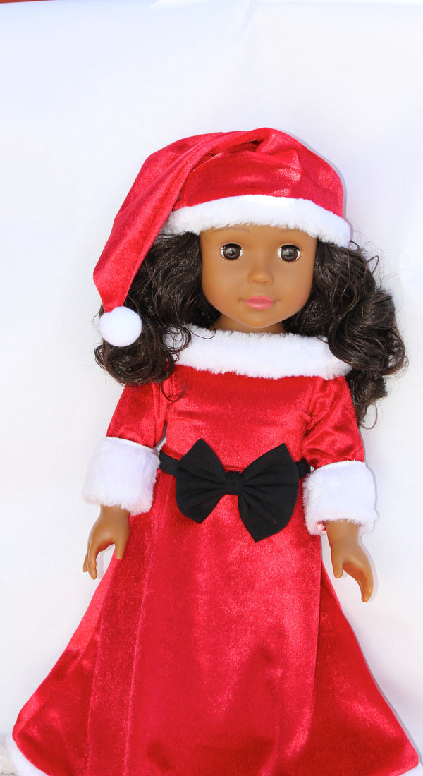 Fancy Holiday Dress Set For 18 Inch Dolls