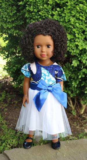 Medium Brown Skin Tone Doll