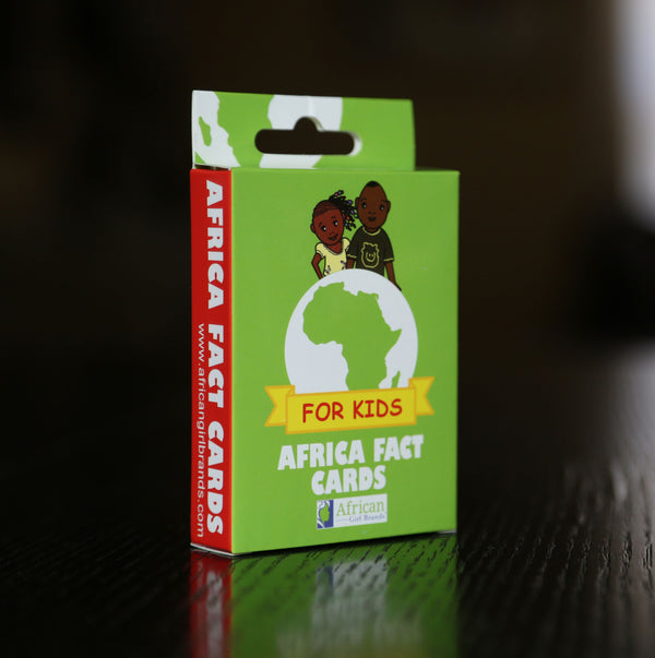 Educational Africa Fact Cards For Kids