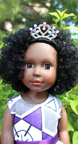 tiara for 18 inch dolls