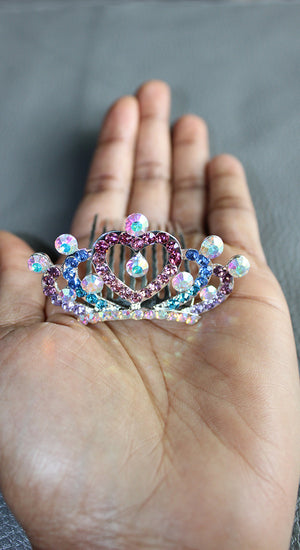 colorful doll tiara