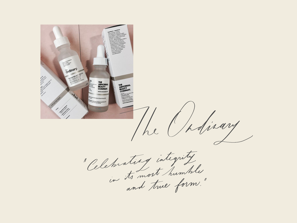 Brand Love Letter: The Ordinary by DECIEM