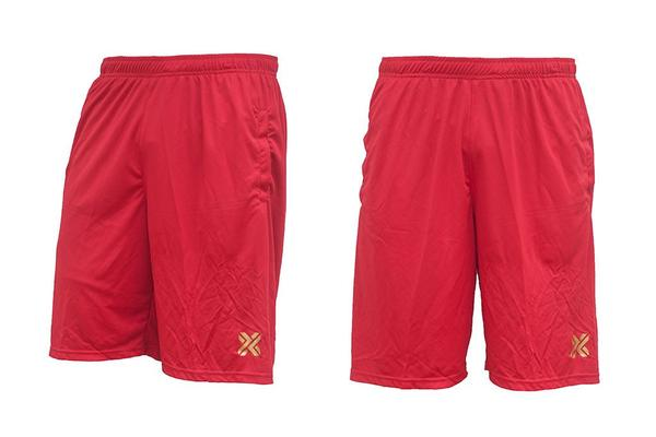 Homebrand X Shorts Red