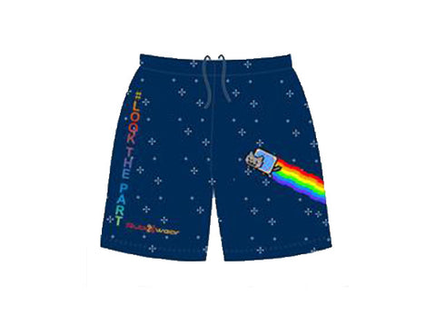 Nyan Cat Sublimated Shorts
