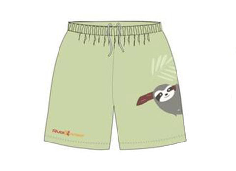 Sloth Sublimated Shorts