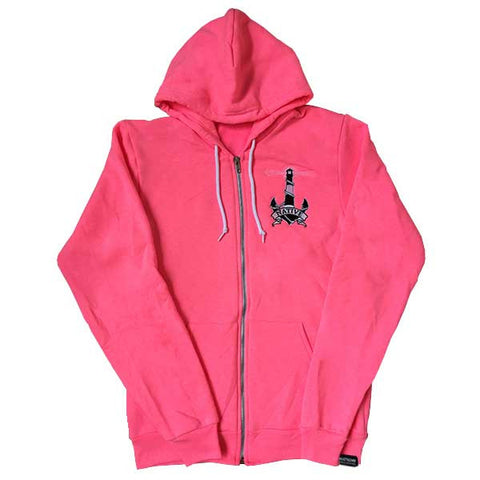 Lighthouse Zip up - Neon Pink - NativeNY