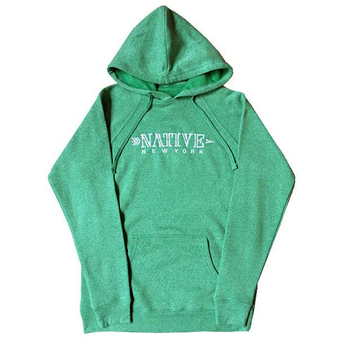 Women's Arrow Pullover - Sea green - NativeNY