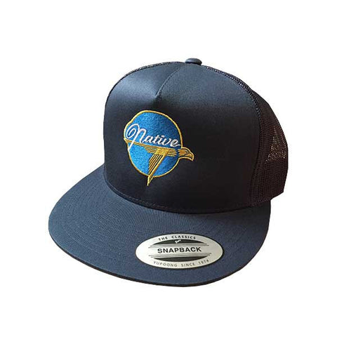 Native X Grumman - Snapback Navy - NativeNY