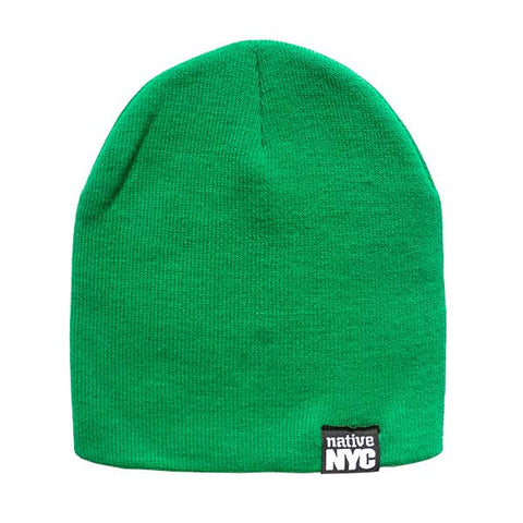 Native-NYC Green Beanie - NativeNY