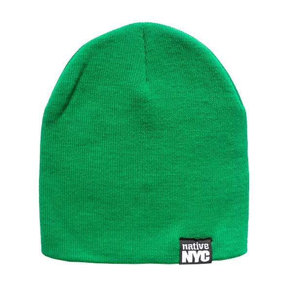 Native-NYC Green Beanie (sale) - NativeNY