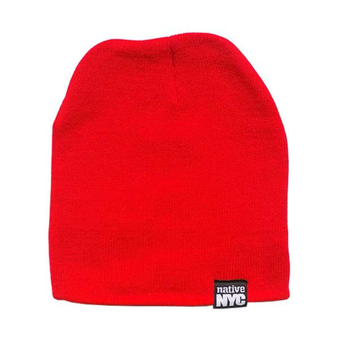Native-NYC Red Beanie - NativeNY