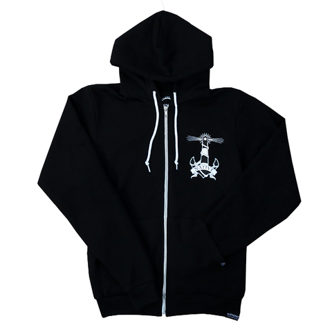 Lighthouse Zip up - Black - NativeNY