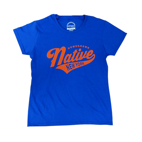Women's Homegrown - Orange/Blue - NativeNY