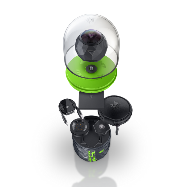 CW+ Exclusive Offer - 10% Off 360fly 4K camera + BONUS Dive Housing