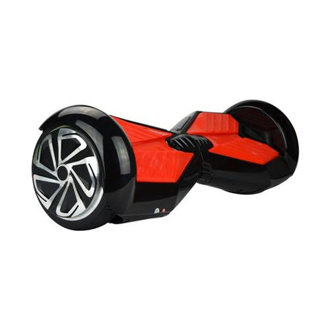Lamborghini Electric Self-balancing Scooter 8 inch Black Red Bluetooth Speaker - balancing-board.com - 1