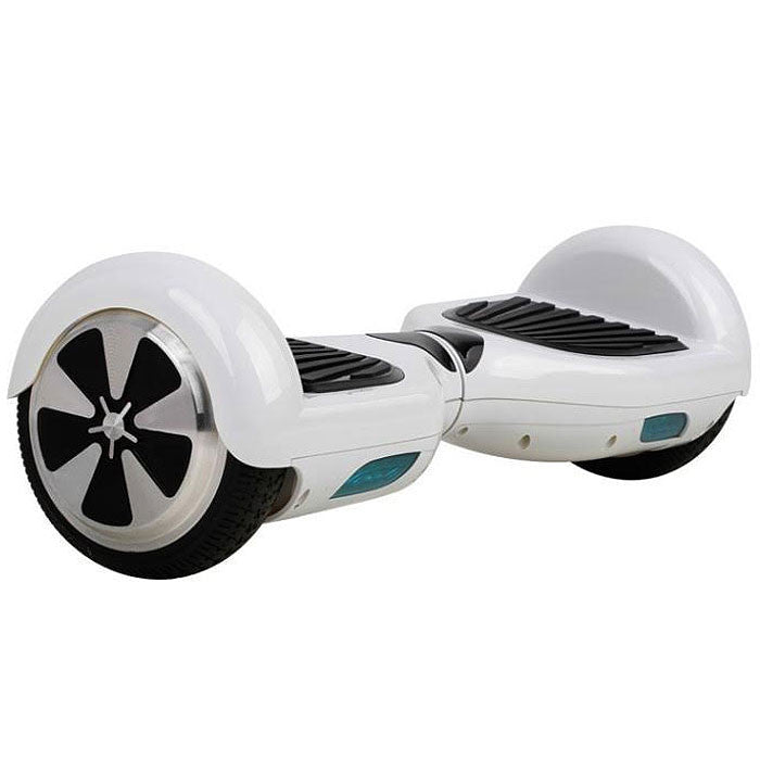 6.5 inch Hoverboard Self-balancing Scooter Electric Board / White - balancing-board.com