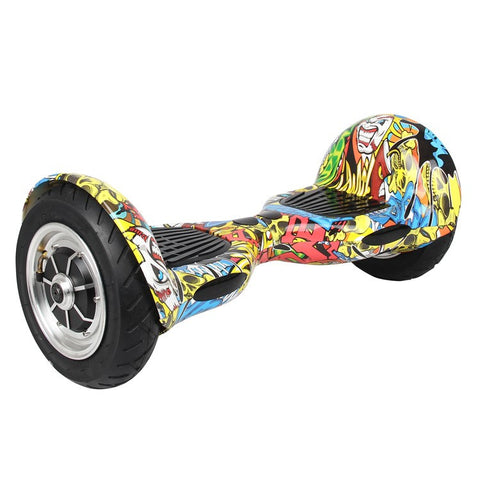 Mini Segway Electric Balancing Scooter 10 inch Hip-hop Graffiti - balancing-board.com - 1