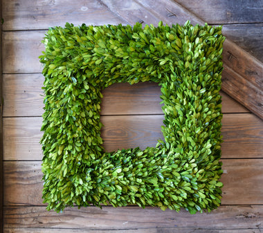 Preserved Boxwood Wreaths