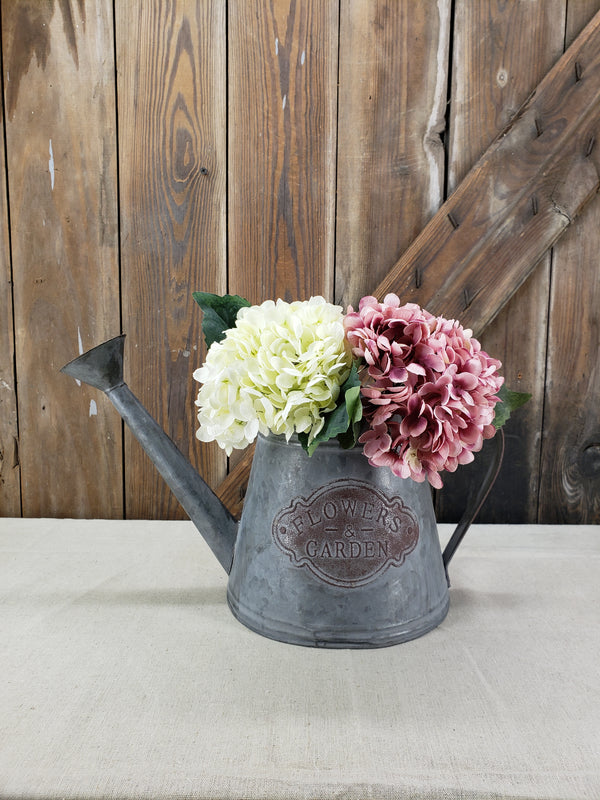 Mauve and White Hydrangea DIY