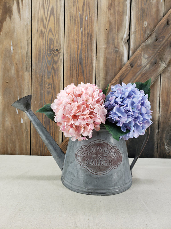Purple Blue and LT Pink Hydrangea DIY