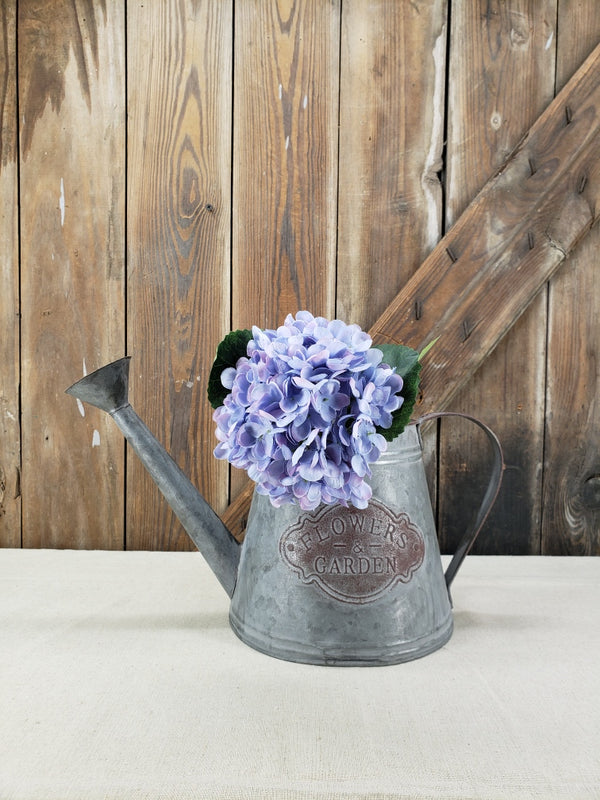 Purple/Blue and White Hydrangea DIY