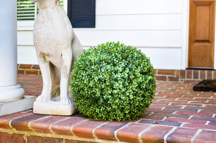 "Faux Boxwood Ball - 15"" - Set of 2 - HOME DECORATIVE ACCENTS - 1"